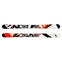Комплект Caddy  Jr  + SX 7.5 GW AC Brake 90 [J] (314069+114380) (горные лыжи+крепления гл) black/neon orange