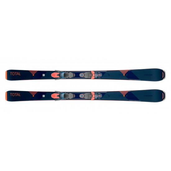 Комплект total Joy SLR Joy Pro + JOY 11 GW SLR Brake 90 [H] (315629+100802) (горные лыжи+крепления гл) blue/coral