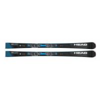 Комплект Supershape e-Titan SF-PR + PRD 12 GW BRAKE 95 [F] (313280+100836) (горные лыжи+крепления гл) black/neon yellow