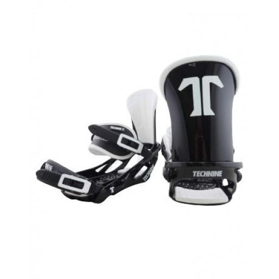 Крепления для сноуборда TECHNINE BLASTER BINDING FLAT HB BLACK/WHITE F19_O